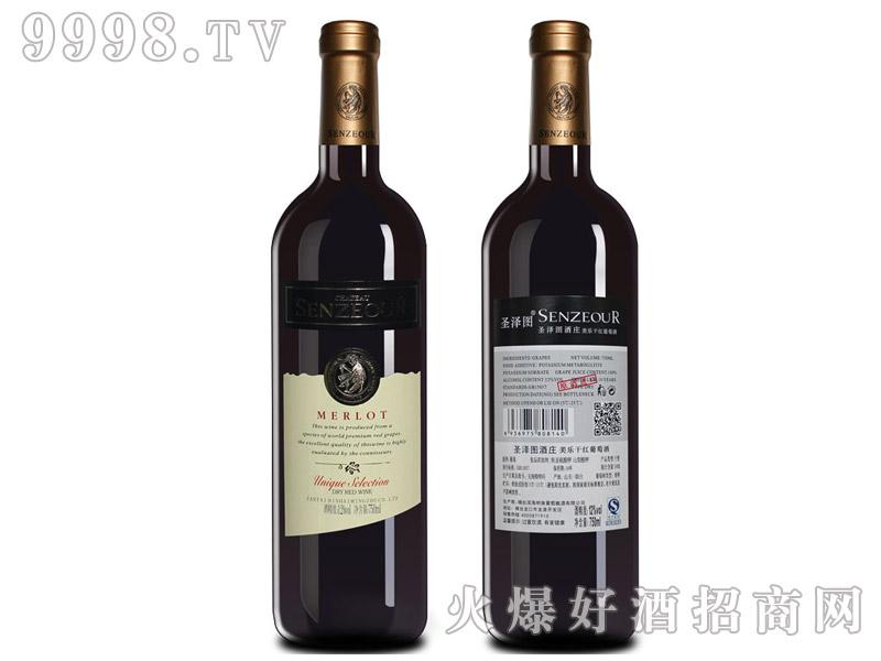 法国圣泽图酒庄美乐干红葡萄酒