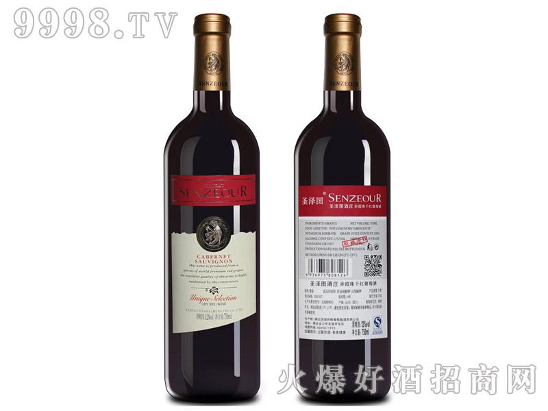 法国圣泽图酒庄赤霞珠干红葡萄酒