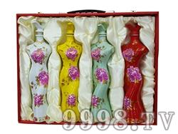 复兴梦-旗袍酒礼盒