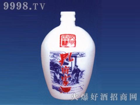 乳白烤花瓶ZD-RB-183孔府家酒
