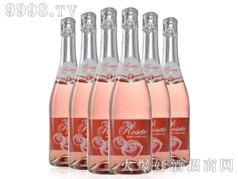 意大利之恋桃红甜型起泡酒