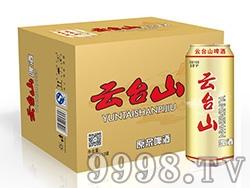 云台山啤酒10度大金罐箱装500ml