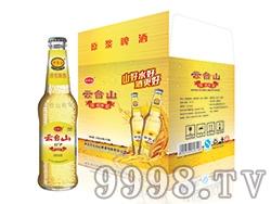 云台山原浆啤酒瓶装11度