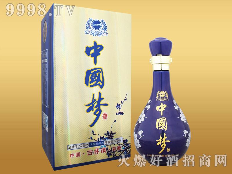 宗河春中国梦酒