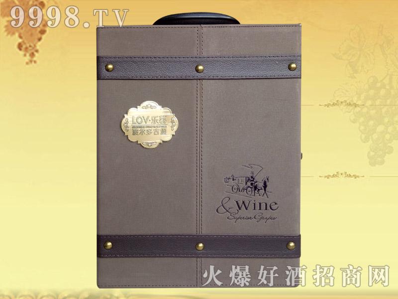 乐慕波尔多古堡干红葡萄酒(礼品盒)