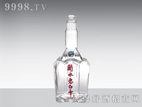 晶白玻璃酒瓶衡水老白干YH-168-500ml
