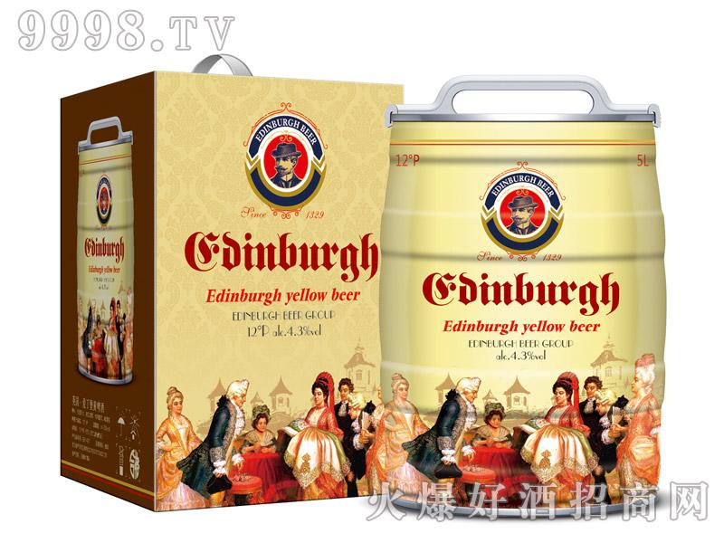 爱丁堡英国黄啤5L