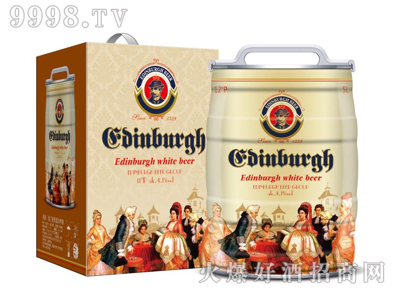 爱丁堡英国白啤5L