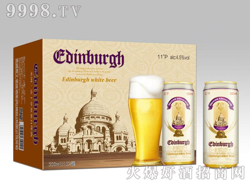 爱丁堡英国白啤500ml