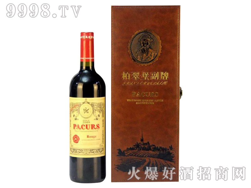 柏翠堡副牌干红葡萄酒2009