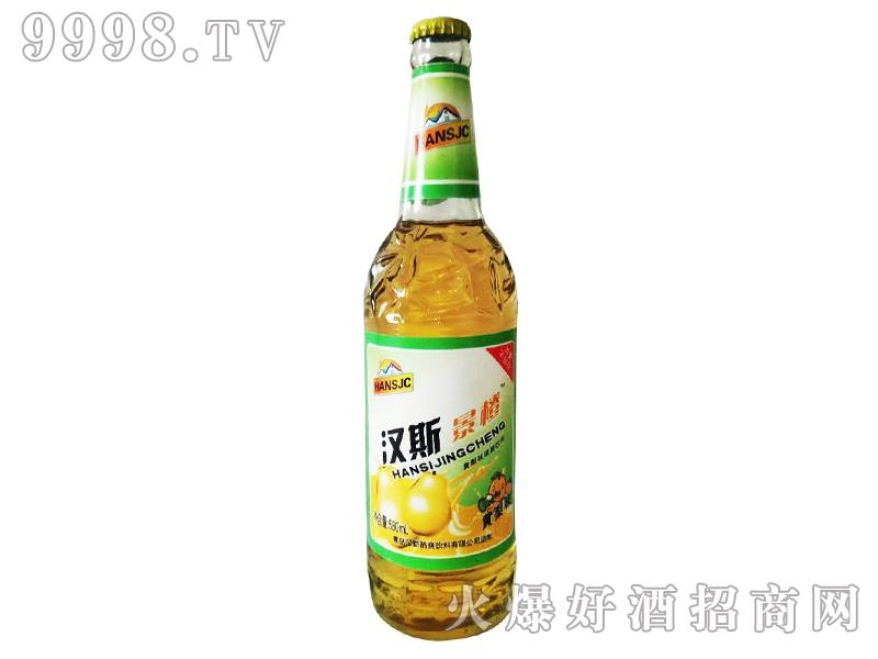 汉斯果啤酒・黄梨味490ml