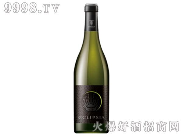 绿色日食白葡萄酒