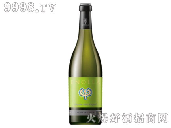 绿色恩诺拉白葡萄酒