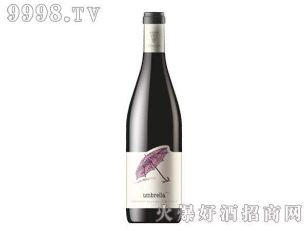 赤霞珠品丽珠混合雨伞红葡萄酒