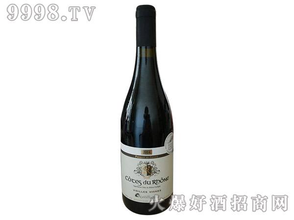 法国60年老树红葡萄酒