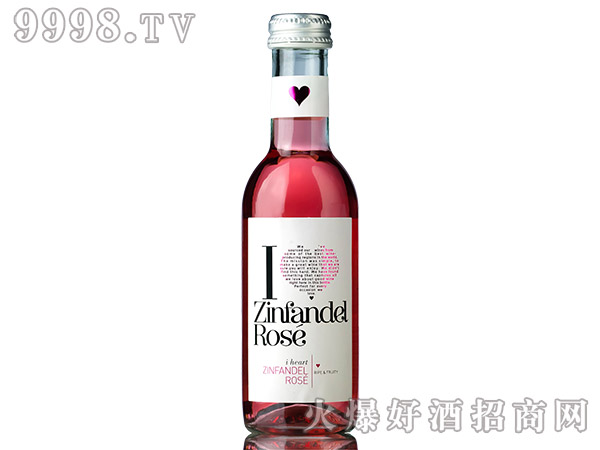 爱嗨187ml仙粉黛葡萄酒