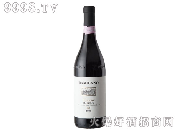 达米拉诺 巴罗洛卡诺比红葡萄酒