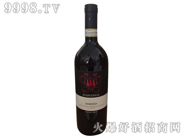 巴帝罗甘帝巴罗洛红葡萄酒