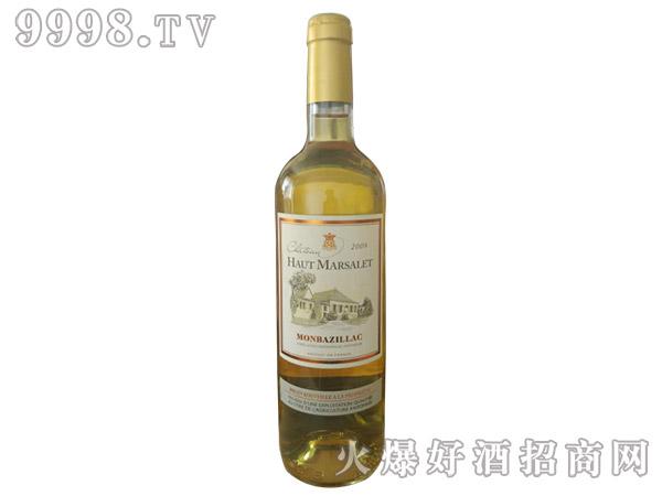 玛索城堡 甜白葡萄酒