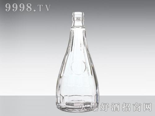 晶白玻璃瓶孔府家酒CP-203-500ml