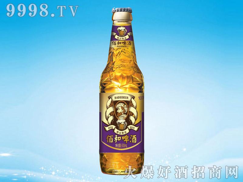 佰和皇冠(紫)啤酒箱500mlx12瓶
