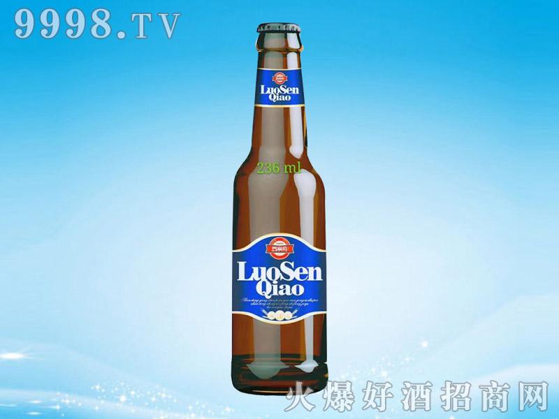 罗森桥啤酒箱218mlx24瓶