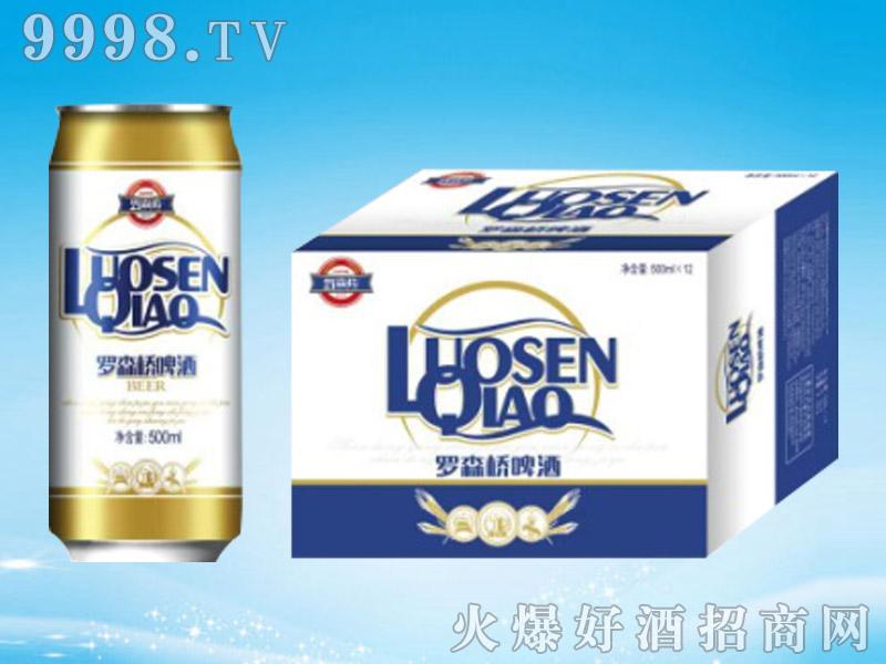 罗森桥啤酒箱500mlx12罐
