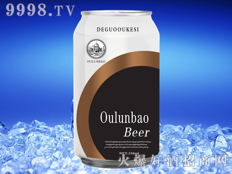欧伦堡啤酒330ml×24(易拉罐)