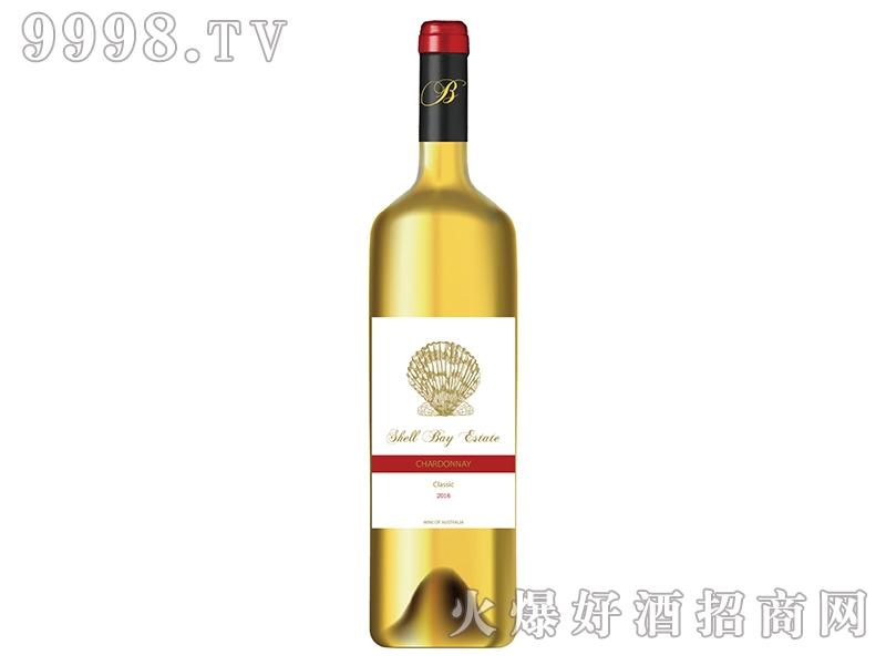 贝壳湾霞多丽干白葡萄酒