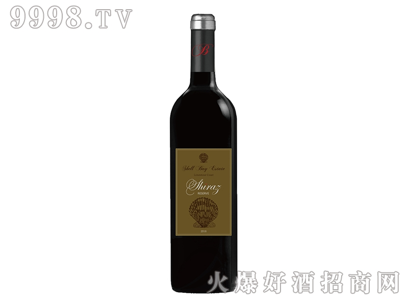 贝壳湾珍藏西拉干红葡萄酒