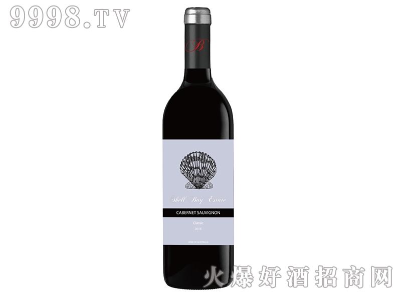 贝壳湾精选赤霞珠干红葡萄酒