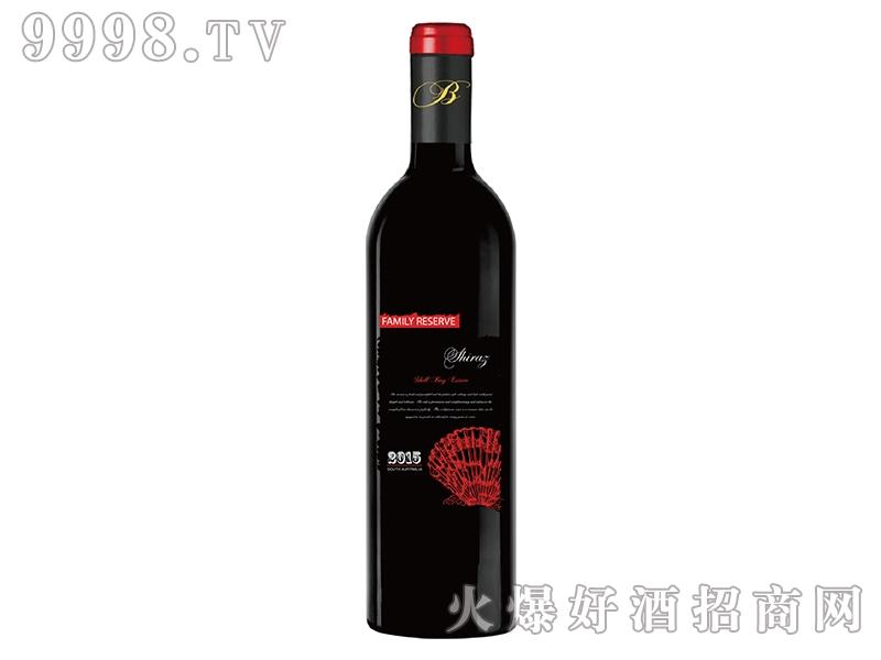 贝壳湾家族珍藏干红葡萄酒