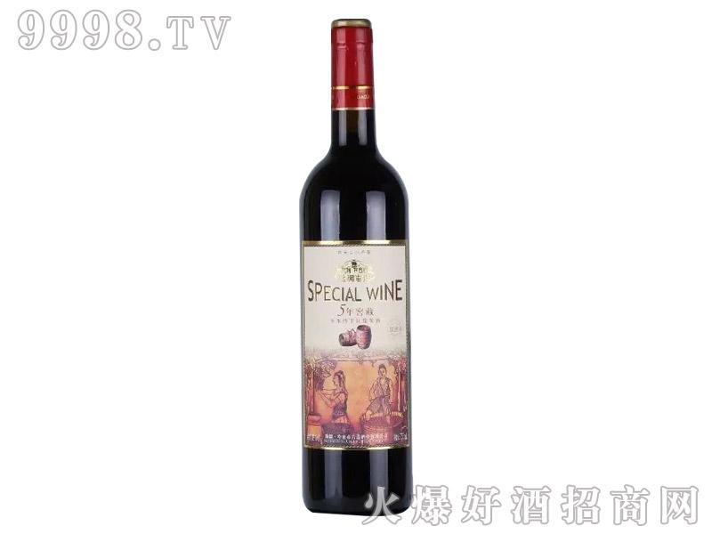 丝绸古道-卡本纳5年干红葡萄酒