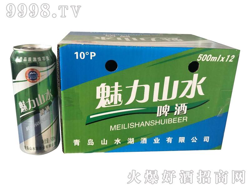 魅力山水啤酒500mlx12