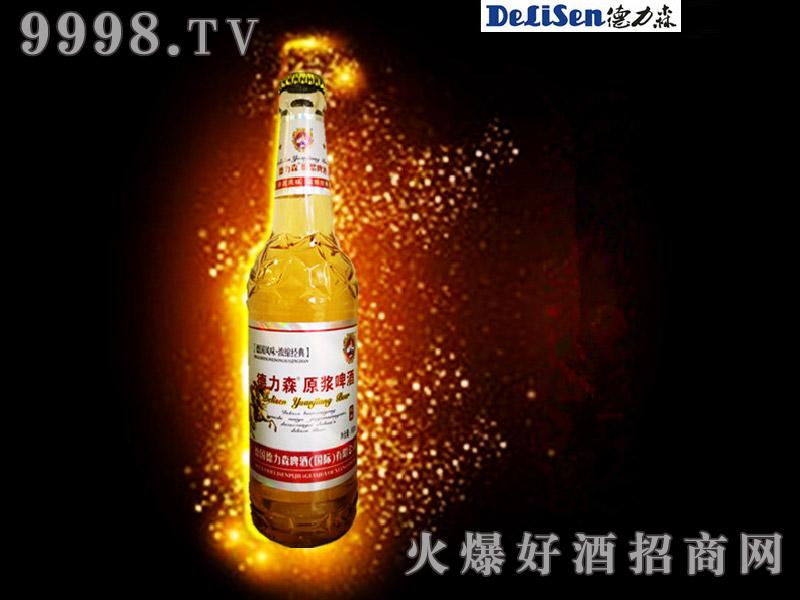 德力森原浆啤酒(白瓶)
