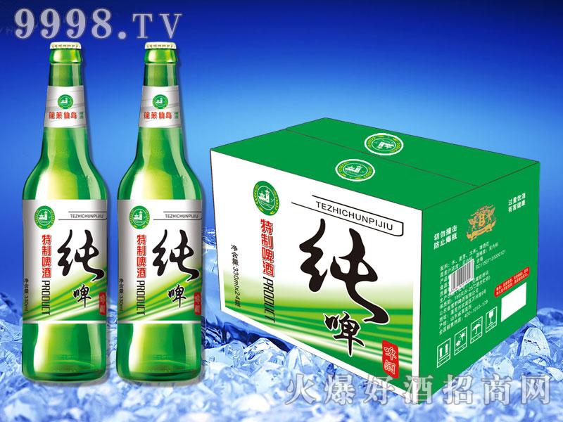 蓬莱仙岛特制纯啤330ml