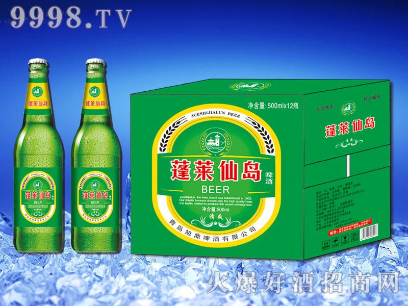 蓬莱仙岛清爽啤酒500ml