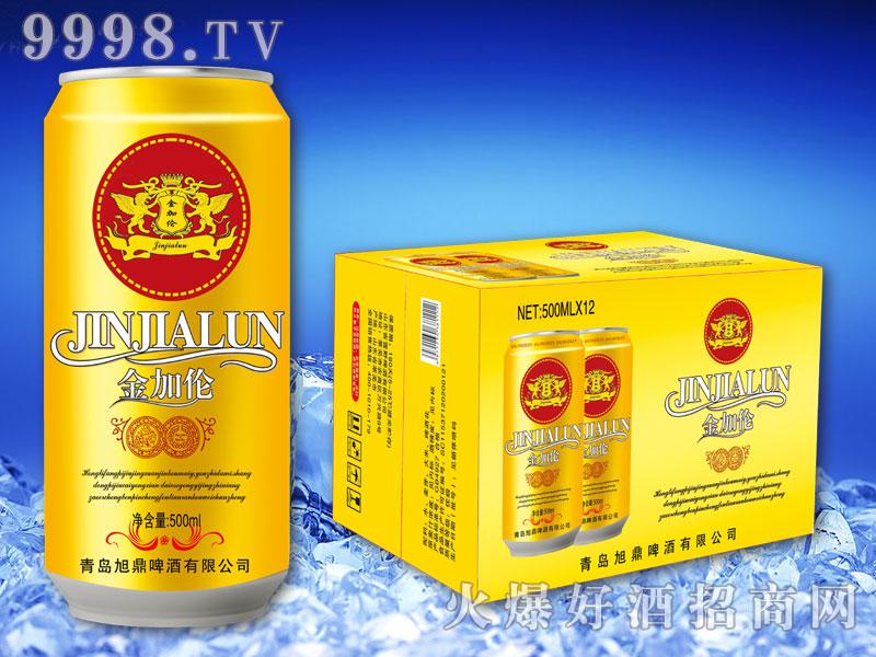 金加伦啤酒500ml(罐)