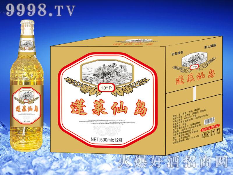 蓬莱仙岛啤酒500ml×12(白瓶)