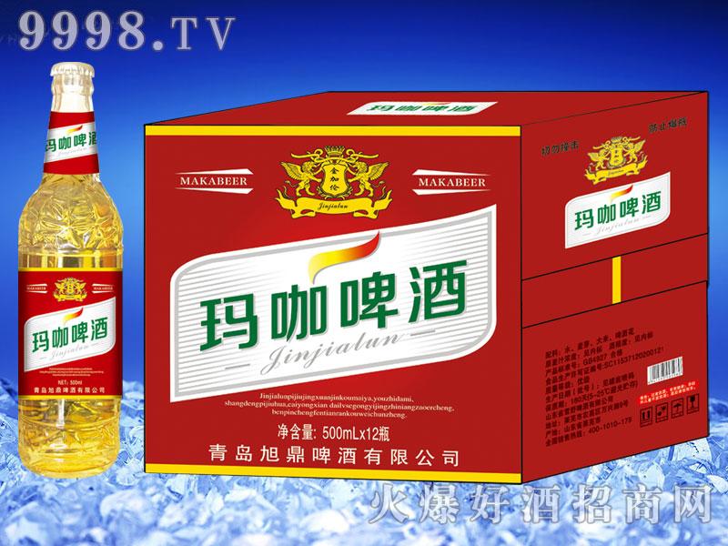 金加伦玛咖啤酒500ml×12(白瓶)