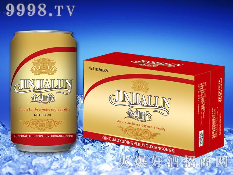 金加伦啤酒328ml×24