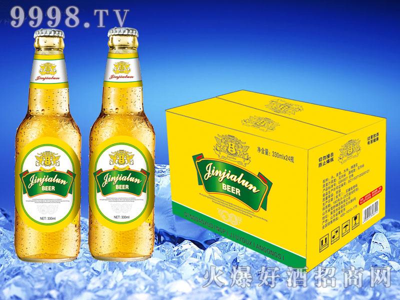 金加伦啤酒330ml×24瓶(黄箱)