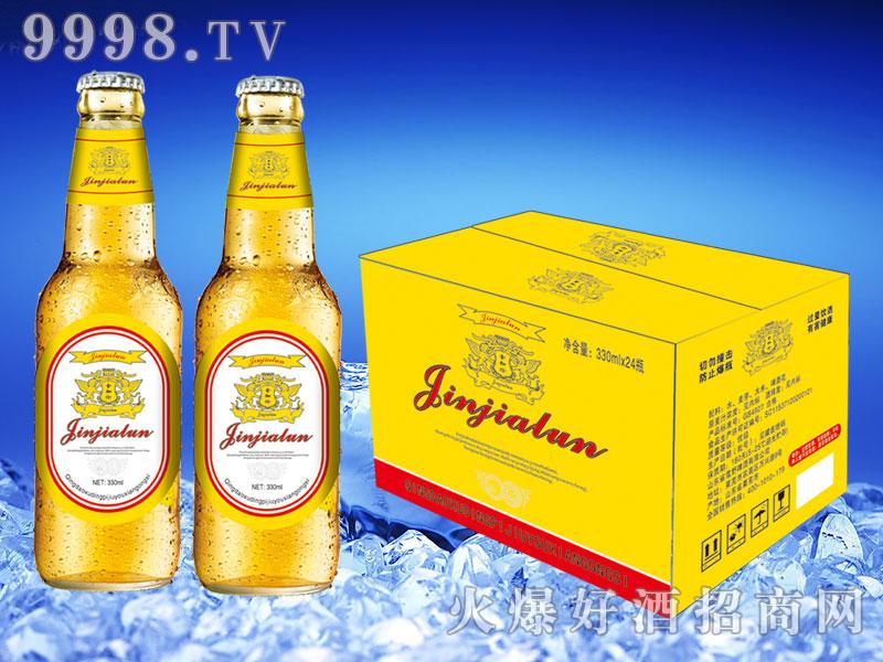 金加伦啤酒330ml×24(黄箱)