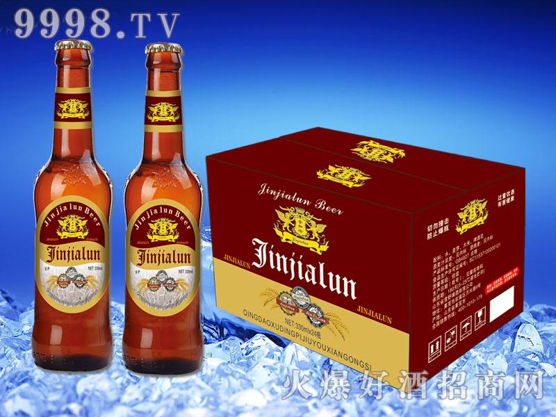 金加伦啤酒330ml