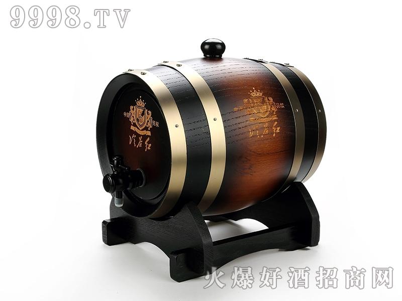 冷谷3升5升橡木桶窖藏干红葡萄酒