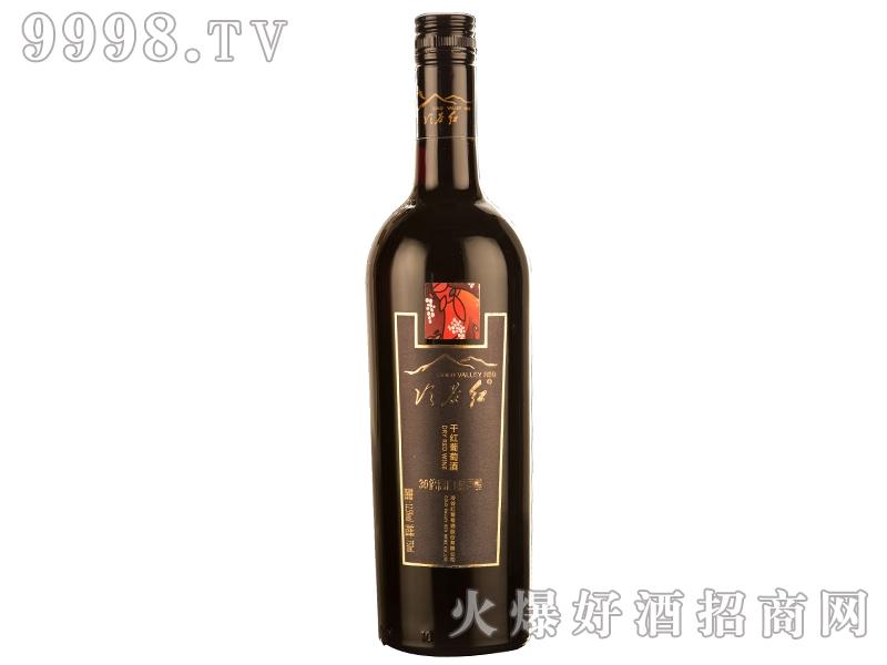 冷谷红30倍高白藜芦醇赤霞珠干红葡萄酒