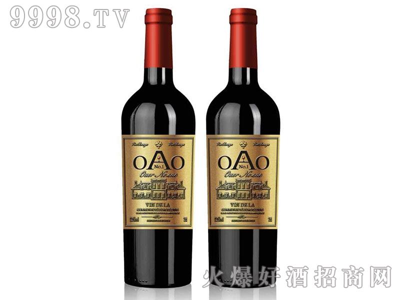 欧澳壹号・金标干红葡萄酒