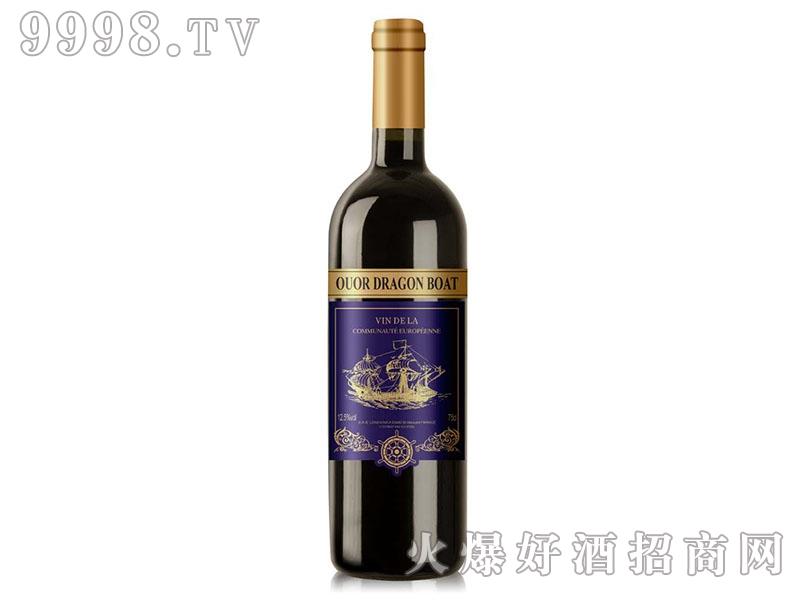 欧澳龙船舵手干红葡萄酒