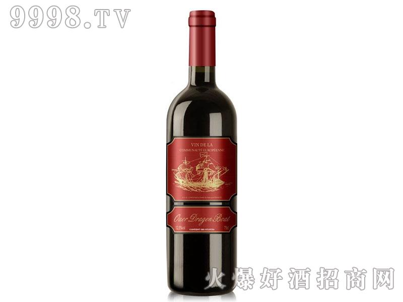 欧澳龙船船长干红葡萄酒