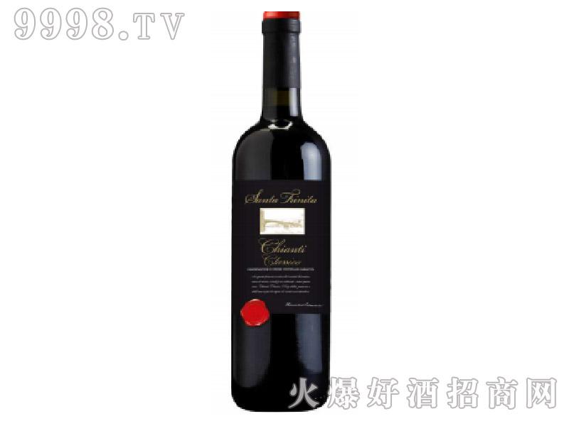 意大利经典基安帝红葡萄酒